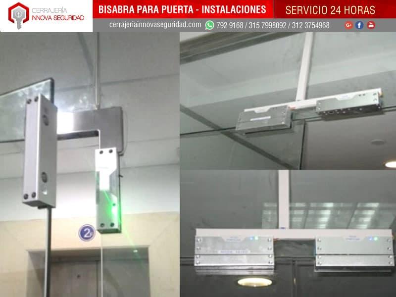 Instalaci n de bisagras de piso y pared para cierre y apertura de puertas de vidrio - Pared de vidrio ...