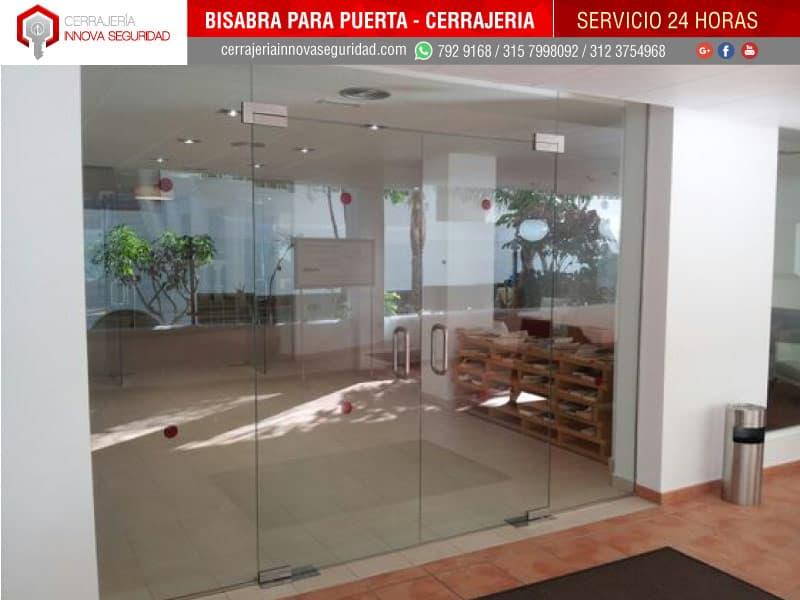 Instalaci n de bisagras de piso y pared para cierre y for Bisagras para mamparas de vidrio