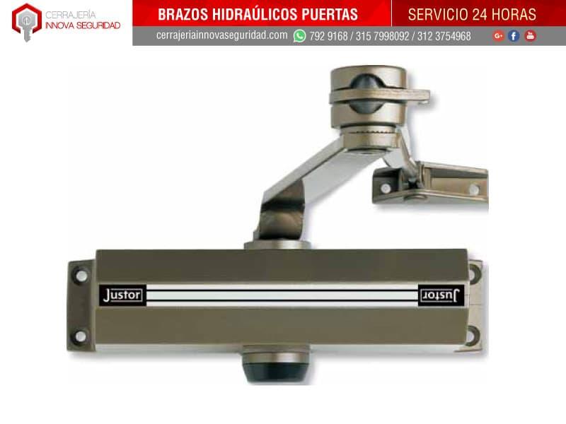 Instalaci n de brazo hidra lico para cierre puertas - Hidraulicos para puertas ...